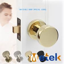 invisible door locks invisible background wall interior door handle lock 304 stainless steel one side no key in locks from home improvement on