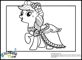 Small Picture My Little Pony Applejack Coloring Pages Team colors Cool