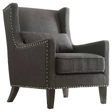 gray wingback chair. Fabulous Grey Wingback Chair On Mid Century Modern With For Remodel 11 Gray A