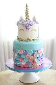 13 Mermaid Cakes Party Ideas Rose Bakes