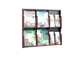 magazine rack office. Commercial Magazine Racks Wall Holder Office Rack Brochure