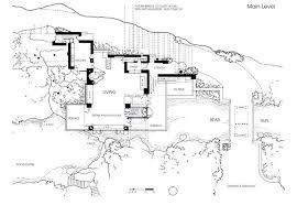 Frank Lloyd Wright Falling Water Floor Plan Fallingwater Second Falling Water Floor Plans