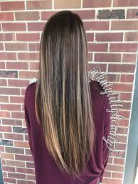 Balayage Highlights Long Brown Blonde Hair