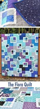 Dessert Roll Quilts: 12 Simple Dessert Roll Quilt Patterns: Pam ... & Finished Flora Quilt - With Link to the Pattern Adamdwight.com