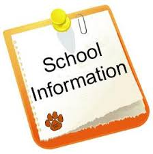 Image result for school information clipart