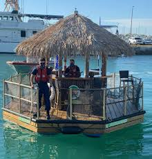 Tiki hut boat stolen in Key West, Coast Guard says | Miami Herald