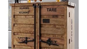 Bar 6909 Container Von Wolf Möbel Massivholz Sheesham Natur