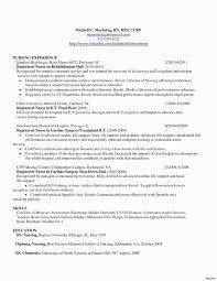 Icu Travel Nurse Resume Lovely Postpartum Nurse Resume Updated 16