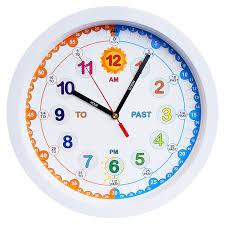 ... Clocks, Exciting Fun Wall Clocks Funny Clocks Amazon White Roynd Clock  Analog Clock: fun ...