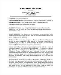 Social Work Resume Template Best Social Worker Resume Templates Federal Work Resume Template Medical