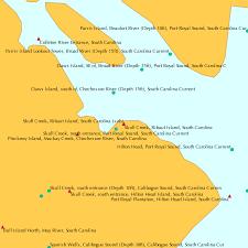 Skull Creek Ribaut Island South Carolina Tide Chart