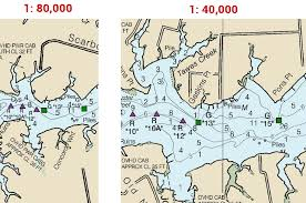 Large Scale Nautical Charts First Step To Avoid Grounding When Sailing Or Cruising
