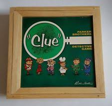 Wooden Box Board Games wooden clue game eBay 90