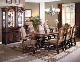 neo renaissance formal dining room set