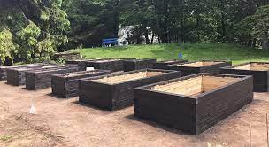 raised bed garden construction part 3