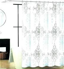 blue and grey shower curtain white curtains mosaic yellow gray teal s