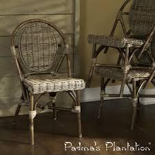 paris kubu bistro chair set of 2 padma s plantation