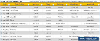 Personal Finance Excel Personal Finance Manager Free Excel Budget Template