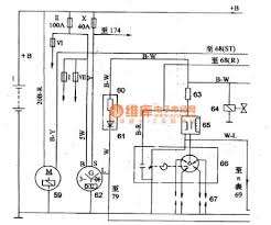 index 104 automotive circuit circuit diagram seekic com mitsubishi pajero light off road vehicle power supply start up ignition circuit basic