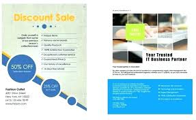 Corporate Strategy Flyer Ad Template Full Page Brochure