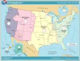 List Of U S States And Territories By Time Zone Simple