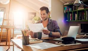 working for home office. Getting To Work For Many Australians Is Now As Easy Opening A Laptop And Connecting Their Home Wi-fi. Working Office O