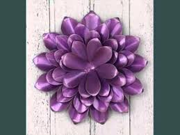 on metal flower wall art purple with metal wall art flowers uk decoration ideas youtube