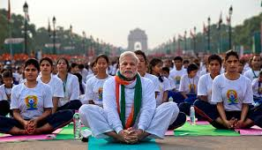 millions in india thousands abroad mark international yoga day