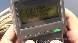 NCT-3 цифровой LAN тестер. Часть 1 - YouTube
