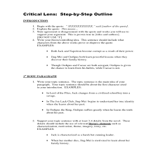 critical lens essay format critique inside history essays on  critical lens essay best photos of critique essay outline critical lens essay best photos of critique