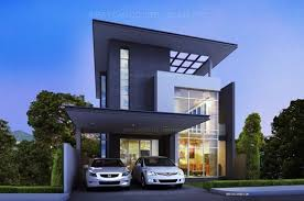 Tropical houses  Home plans and House plans on PinterestModern Tropical House Plans  amp  Contemporary Tropical  Modern Style in Thailand  Modern Style Three