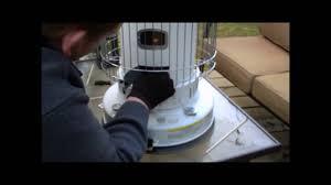 How To Light A Kerosene Heater How To Check Fill And Light A Kerosene Heater