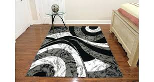 swirl area rug home ink