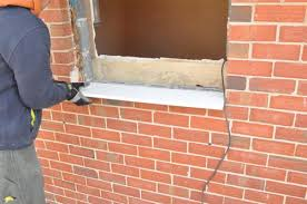 installing new window in existing brick