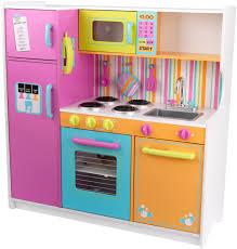 Kitchen, Enchanting Wooden Childrens Kitchen Set Best Wooden Play Kitchen  Colorful Childrens Kitchen Set: