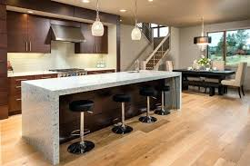 waterfall edge countertop ideas to steal from our favorite custom kitchens timberline waterfall edge countertop
