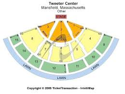 The Comcast Center Seating Chart Xfinity Center Mansfield Ma Seating Chart With Seat Numbers
