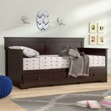 full size daybed with storage. Exellent Size Shiny Chocolate Daybed On Full Size With Storage