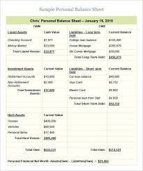 simple balance sheet example balance sheet template excel filocaricatura club