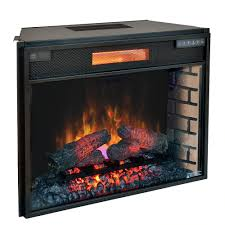 classicflame 28 in spectrafire plus infrared electric fireplace insert 28ii300gra