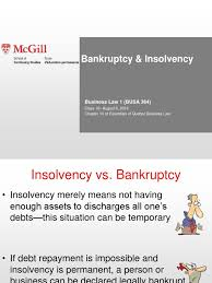 Find the best lawyers for insolvency and financial restructuring law in quebec, canada or filter down to a specific location by using the navigational links. Bankruptcy Law Ppt