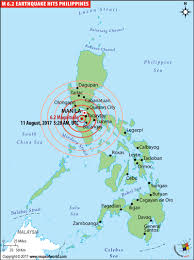 In the philippines, it is the philippine institute of volcanology and seismology (phivolcs) that records the details about earthquakes happening in the different parts of the country. Philippines Earthquake Map Places Affected By Earthquake In Philippines
