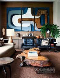 Masculine Interior Design Unique ONE ROOM INSPIRATION A MASCULINE VINTAGE STUDY Coco Kelley Coco