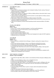 Driver Resume Example CDL Driver Resume Samples Velvet Jobs 17