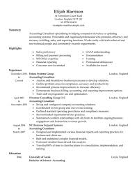 Consultant Resume Example Consulting Resume Examples On Resumes