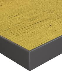 high pressure laminate surface with 3mm edge