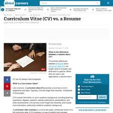 Resume/curriculum Vitae (Cv)/job Hunting/etc | Pearltrees