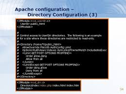 exercise 6 apache and my sql outline apache