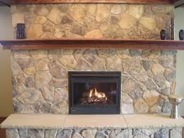 faux stone fireplace mantel shelves