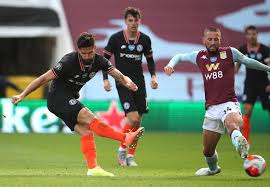 View full match commentary including video aston villa 1, chelsea 2. Aston Villa 1 2 Chelsea Quickfire Second Half Blues Double Sinks Hosts 5 Talking Points Mirror Online